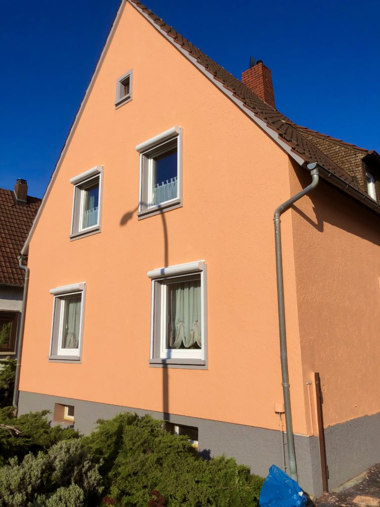 Gipserarbeiten Fassade Haus
